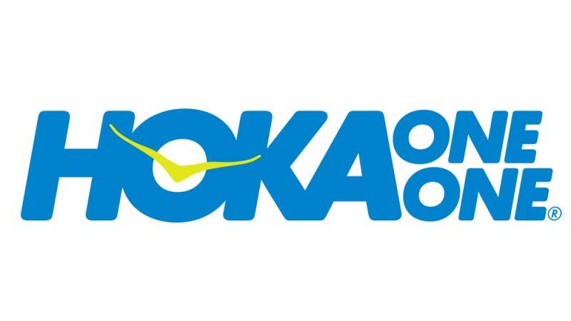 Hoka Logo Blue Citrus