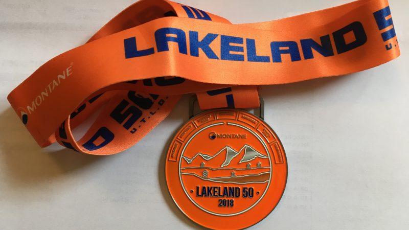 Lakeland50 Medal