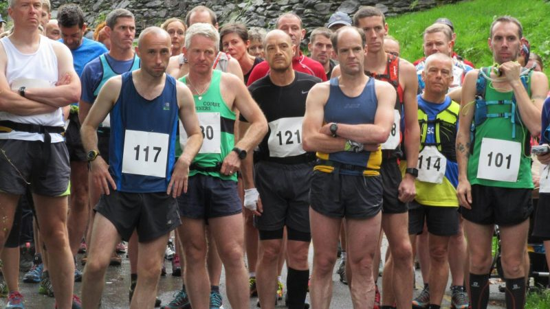 Wansfell Trail Race Start