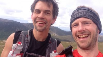 Guiding a Bob Graham Round with Damian Hall