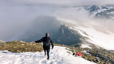 Mountain Running during the Winter Months