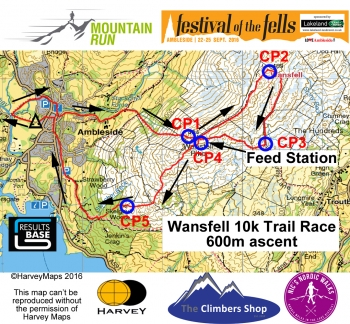 Wansfell Trail Race 2016 V4